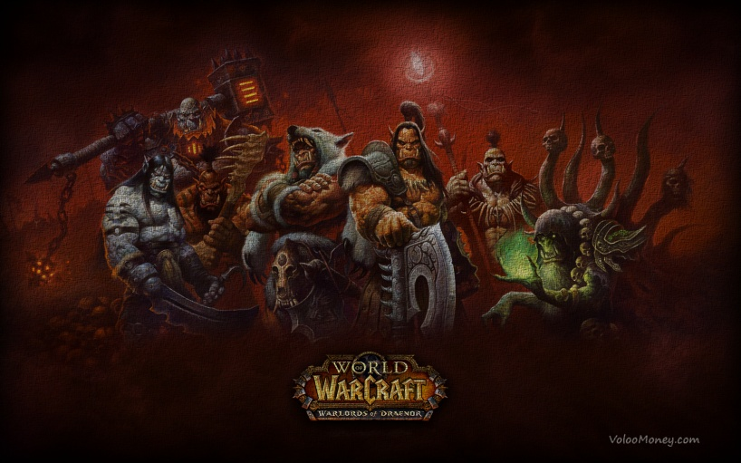 World of Warcraft: Warlords of Draenor 13 ноября, World of Warcraft: Warlords of Draenor, World of Warcraft, дата выхода World of Warcraft: Warlords of Draenor